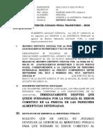 3er. Juzgado Penal Escrito 3 de Himberto Aguilar.
