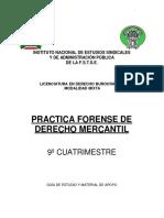 Pràctica Forense de Derecho Mercantil