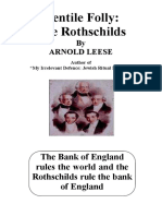 Gentile Folly the Rothschilds by Arnold Leese