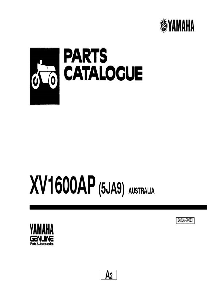 Yamaha XV 1600 Parts List Www.manualedereparatie.info