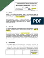 PRC-SST-009 Procedimiento de SST Para Contratistas
