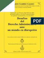 E.gamero.casado.desafíos Del Derecho Administrativo Ante Un Mundo en Disrupción.2015