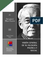 Jackes Maritain Vision de Su Filosofia Politica y Social