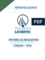Caratula de Informe