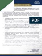 Política de Gestión Integrada v4 COPE