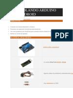 Controlando Arduino Con Android