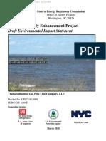 Draft Environmental Impact Statement of Northeast Supply Enhancement of Transco Pipeline