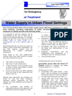 GWC Urban Floods Water Supply Briefing