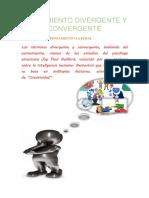 PENSAMIENTO DIVERGENTE Y CONVERGENTE.docx