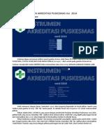 Petunjuk Penggunaan Instr. Akreditasi Puskesmas Ver. 2014