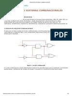 Análisis de Sistemas Combinacionales