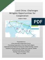 Thayer, Australia and China