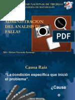 Administracion como evaluar una falla estructural