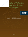 Sharon Weisser, Naly Thaler-Strategies of Polemics in Greek and Roman Philosophy