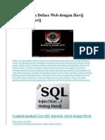 Tutorial Cara Deface Web Dengan Havij Download Havij