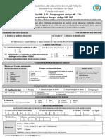 Dengue FICHA 210-220-580