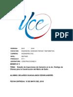 Deber N°5 Estudio de Inyeccion de Cemento en Quito