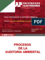Semana 3 - Proceso y Planificacion de La Auditoria Ambiental