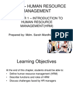 C1-Intro to HRM