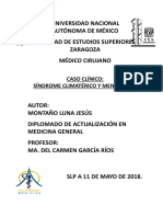 Tarea 8 Caso Clinico Climaterio y Menopausia