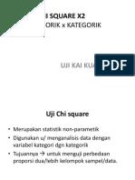 Uji Chi Square