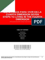 Documentop.com Siete Pasos Para Vivir en La Cuarta Dimension Seve 5a9326521723ddc7f95fb21c