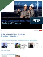 Wind Generation Best Practice Series