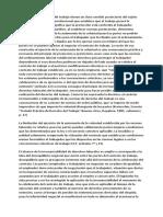 Fundamentación Constitucional Del Derecho de Trabajo