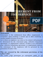 Retirement, Arbitration and Appeal Report - Copy