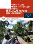 Community-Led Human Rights-Based Solutions to Climate-Forced Displacement