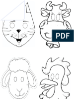 Mascaras Animais