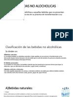Bebidas No Alocholicas