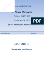 Structural Analysis-Lec 1 Structs Loads(1)