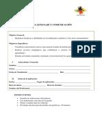2. Prueba Diagnóstica Lenguaje (Exequiel a. Rodriguez S.)