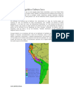 Ubicación Geográfica Cultura Inca