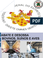 Abate e Desossa de Suino Bovinos e Aves
