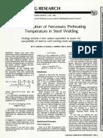 Determination of necessary preheat temperature to avoid cold cracking under various ambient temperatrues.pdf