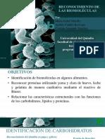 Reconocimiento de Las Biomoleculas