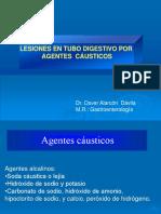 Clase 1 - Esofagitis Cáustica