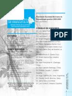 Slidex.tips Revista Boliviana de Dermatologia Revista Boliviana de Dermatologia Consejo de Asesores