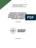 NeuropsychologicalFunctionWomenBorderlineD.Maurex