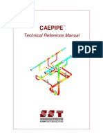 CAEPIPE Technical Reference Manual
