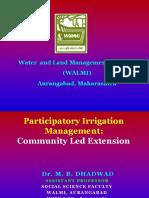 MBD PIM - Community Led Extension