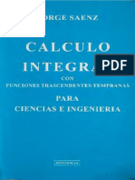 Calculo Integral - Jorge Saenz