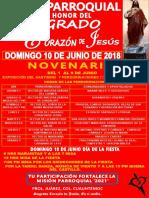 Fiesta Sagrado Corazón de Jesús 2018