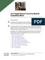 Compatibility Matrix