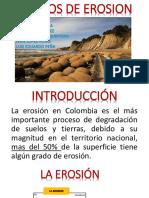 Expo Grados de Erosion