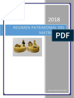 Trabajo Regimen Patrimonial