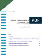 Teorema fundamental de las integrales de línea
