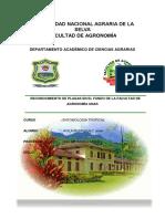 Entomología Tropical plagas